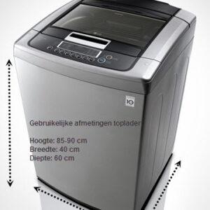 voorbeeld wasmachine toplader