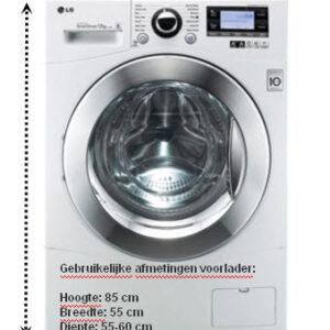 voorbeeld wasmachine-voorlader