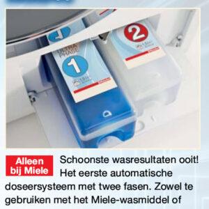 miele wasmachine met Twin doseersysteem