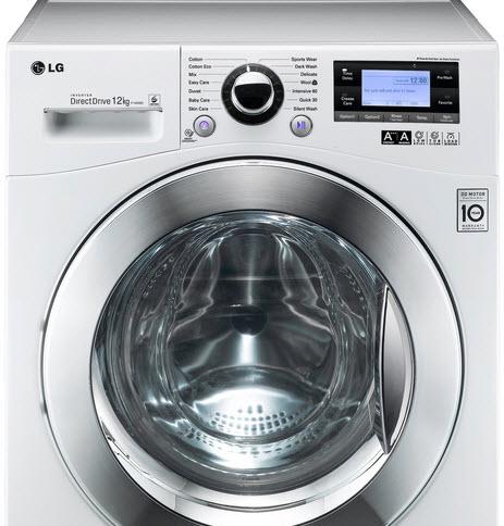 Lg wasmachine 12 kg