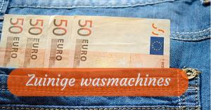 Beste energiezuinige wasmachines 2015