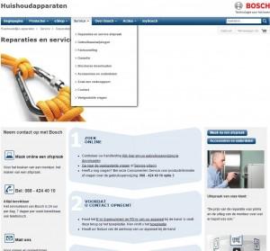 Bosch wasmachines en garantie