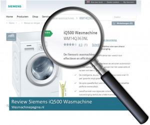 Siemens WM14Q363NL nader bekeken in review