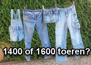 een 1400 of 1600 toeren wasmachine?