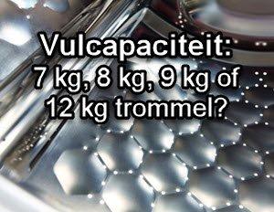 vulcapaciteit-wasmachinetrommels