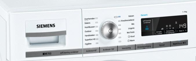Uitgebreide Siemens WT44W562NL review