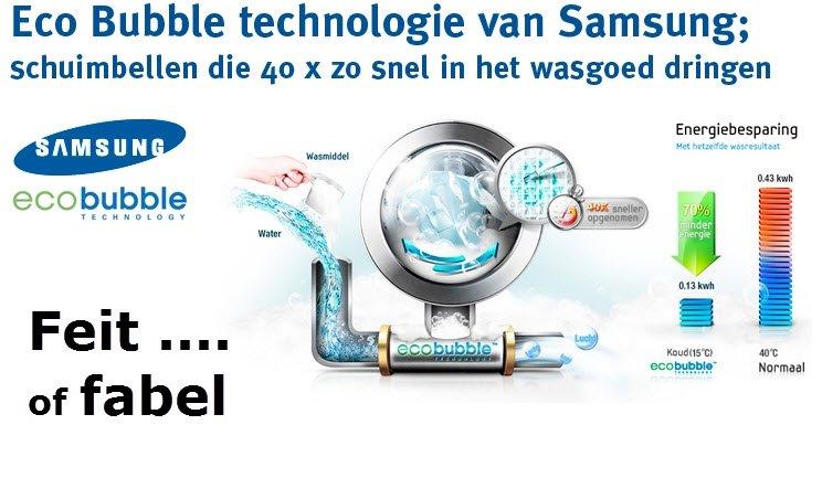 Achtergronden bij Samsung Eco Bubble