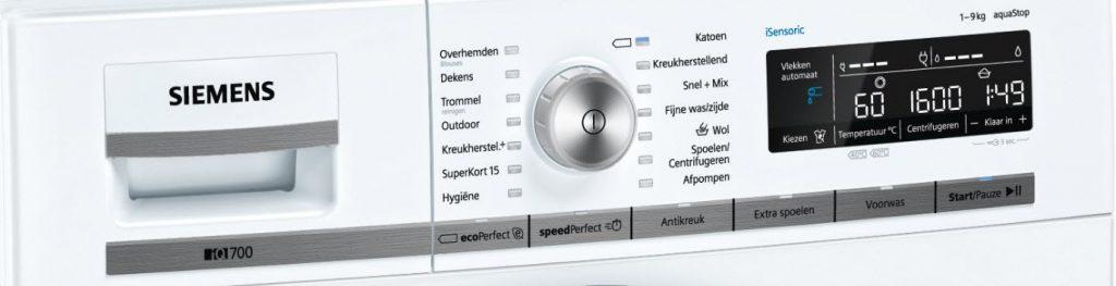 Siemens-WM16W542NL-bediening-wasprogramma