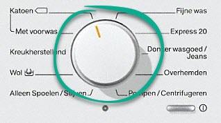 gemakkelijke bediening met één knop