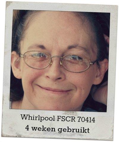 Dominique over de Whirlpool FSCR70414