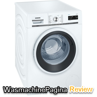 Siemens WM16W461NL review door Ruud