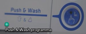 Indesit Push & Wash programma