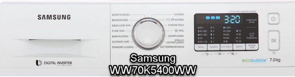 Samsung WW70K5400WW review