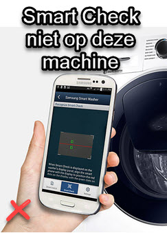 Samsung Smart Check - wasmachine APP