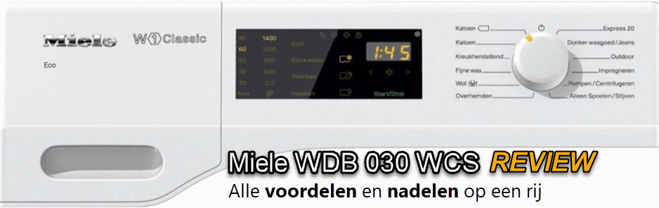 Miele WDB 030 WCS review
