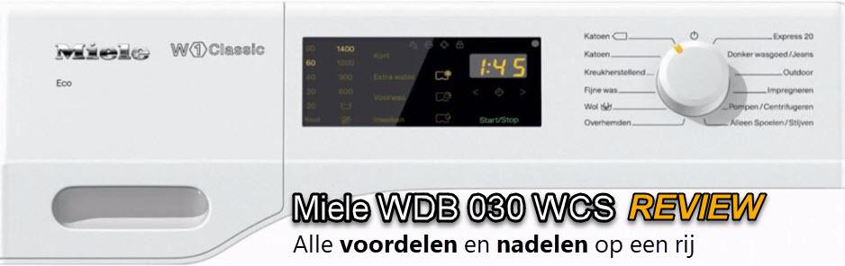 Magnifiek Miele WDB 030 WCS review en aanbiedingen - Wasmachine Pagina LG31