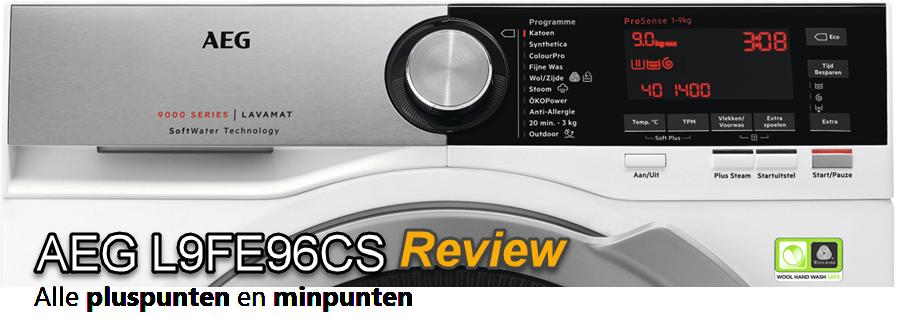 AEG L9FE96CS review en testscores