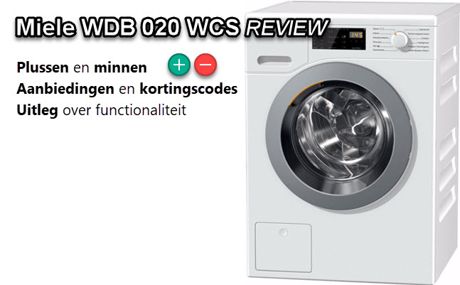 Miele WDB 020 WCS review