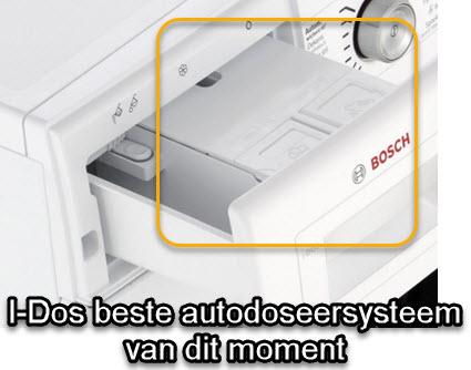 Werking van I-DOS doseersysteem op Bosch WAWH2643NL