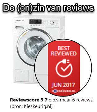 De onzin van de Miele WMH 122 WPS review