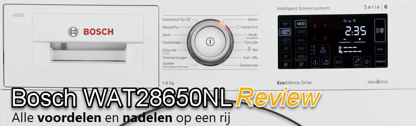 Bosch WAT28650NL_review