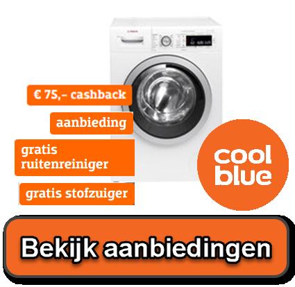 Wasmachine aanbiedingen bij Coolblue