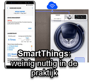 Nut van SmartThings app