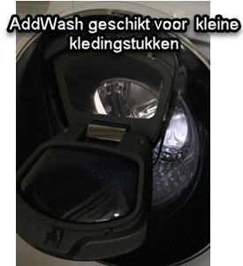 AddWash zit op de meeste Qdrive wasmachines