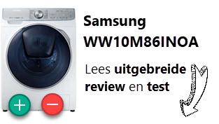 Samsung WW10M86INOA review en oordeel door WasmachinePagina