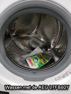 Ervaringen en bevindingen tijden het wassen