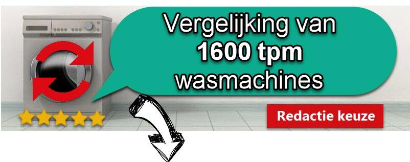 top 10 wasmachine 1600 toeren