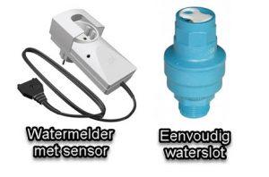 waterslot en waterbeveiligingen voor je wasmachine