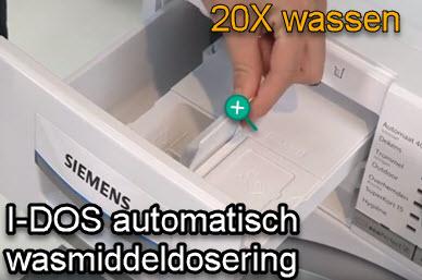 I-dos op de Siemens iQ700 iSensoric