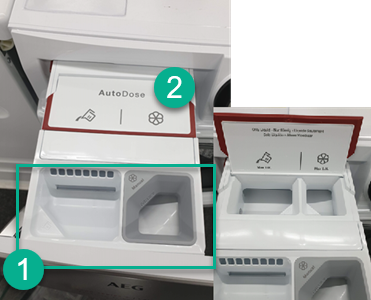 Uitleg bij AEG L7FENQ96 review over gebruik van AEG autodose