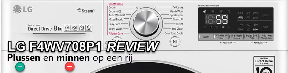 Uitgebreide LG F4WV708P1 review door WasmachinePagina