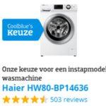 Haier HW80-B14636 is Coolblue keuze