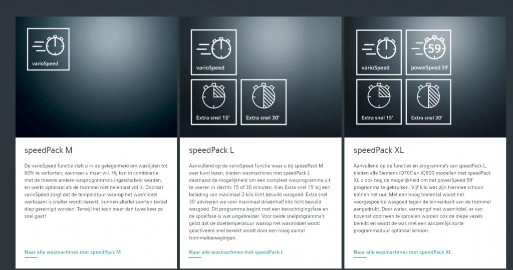 meer over Siemens Speedpacks M en L en xl