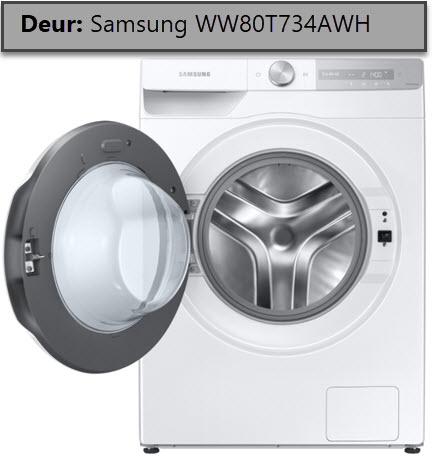 deur Samsung WW80T734AWH