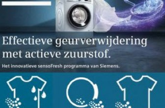 Wat werkt beter?  Bosch Active Oxygen, Samsung Eco Bubble of Siemens SensoFresh