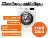Coolblue wasmachine aanbiedingen