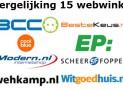 Vergelijking webwinkels:  beste webwinkel om een wasmachine te kopen